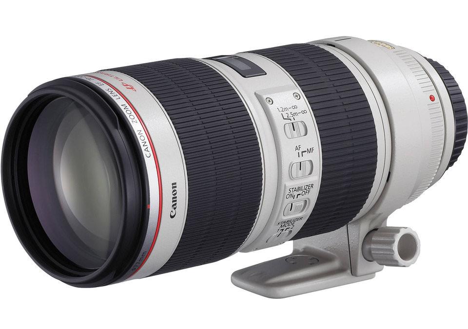 Blanco Objetivo para Canon Canon EF 70-200mm f//4L USM Distancia Focal 70-200mm, Apertura f//4-32, Zoom /óptico 2.8X,di/ámetro: 67mm
